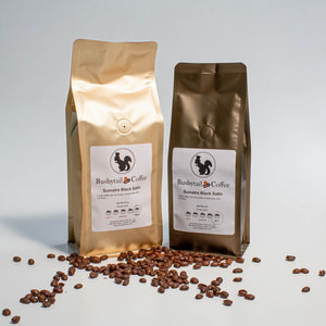 Sumatra Black Satin Coffee | Buhsytail Coffee | Tennessee Valley Pecan Company