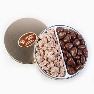 Double Delight Two Variety Tin | Tennessee Valley Pecan Company