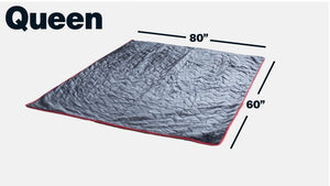 Twilight Thermal Mattress Topper - Twin