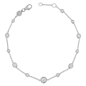 Endless Diamond Strand Bracelet