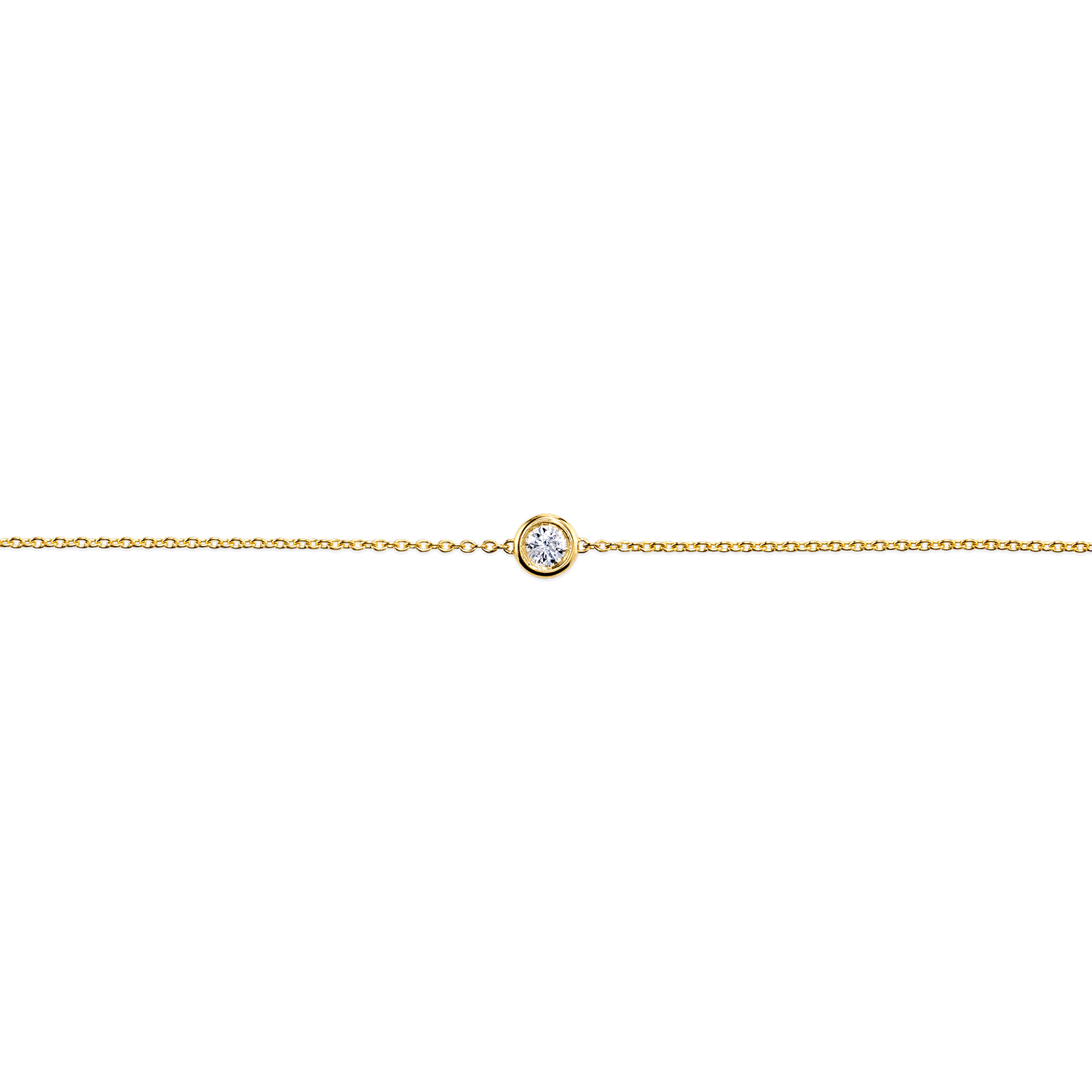 Solitaire Diamond Bracelet