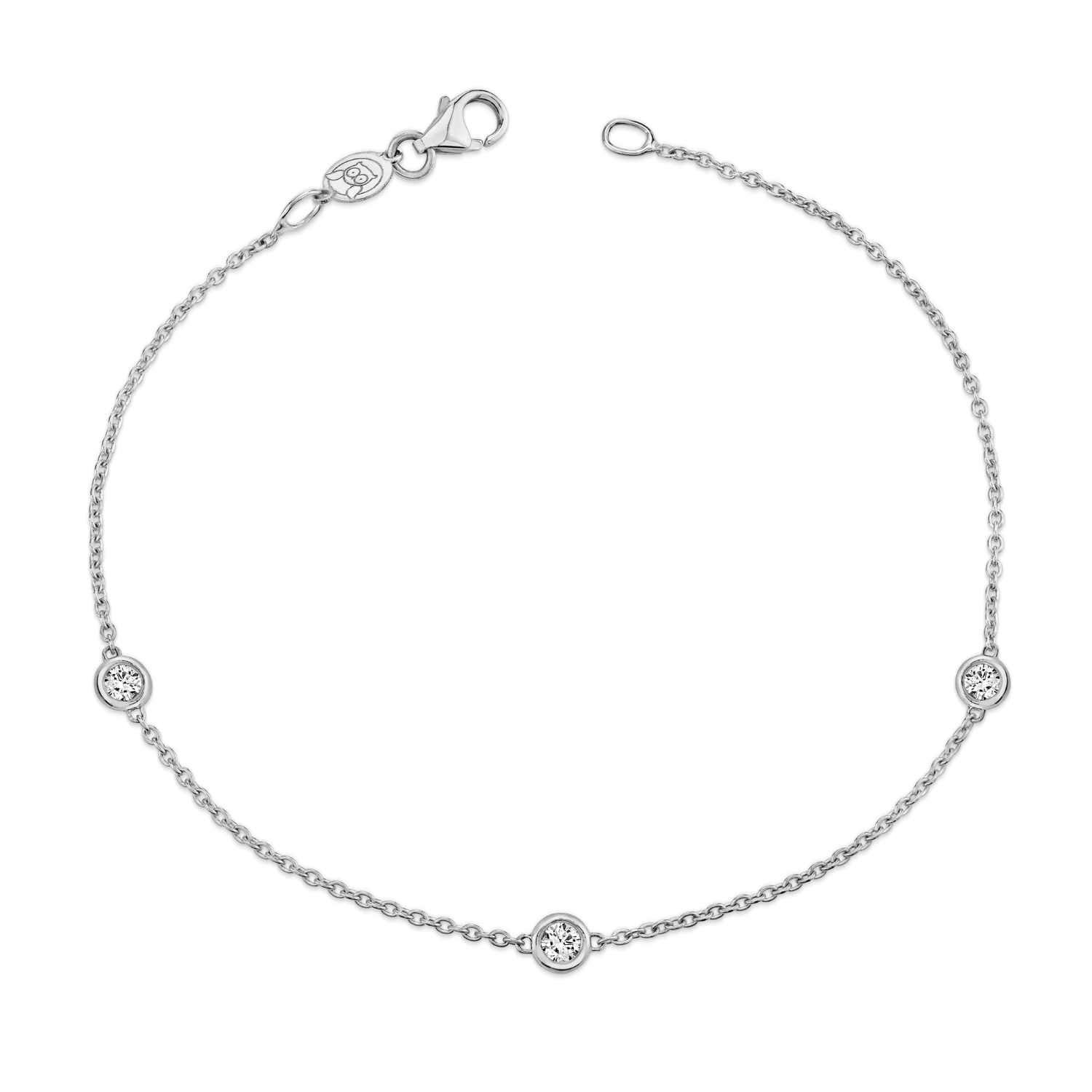 Kids Diamond Strand Bracelet