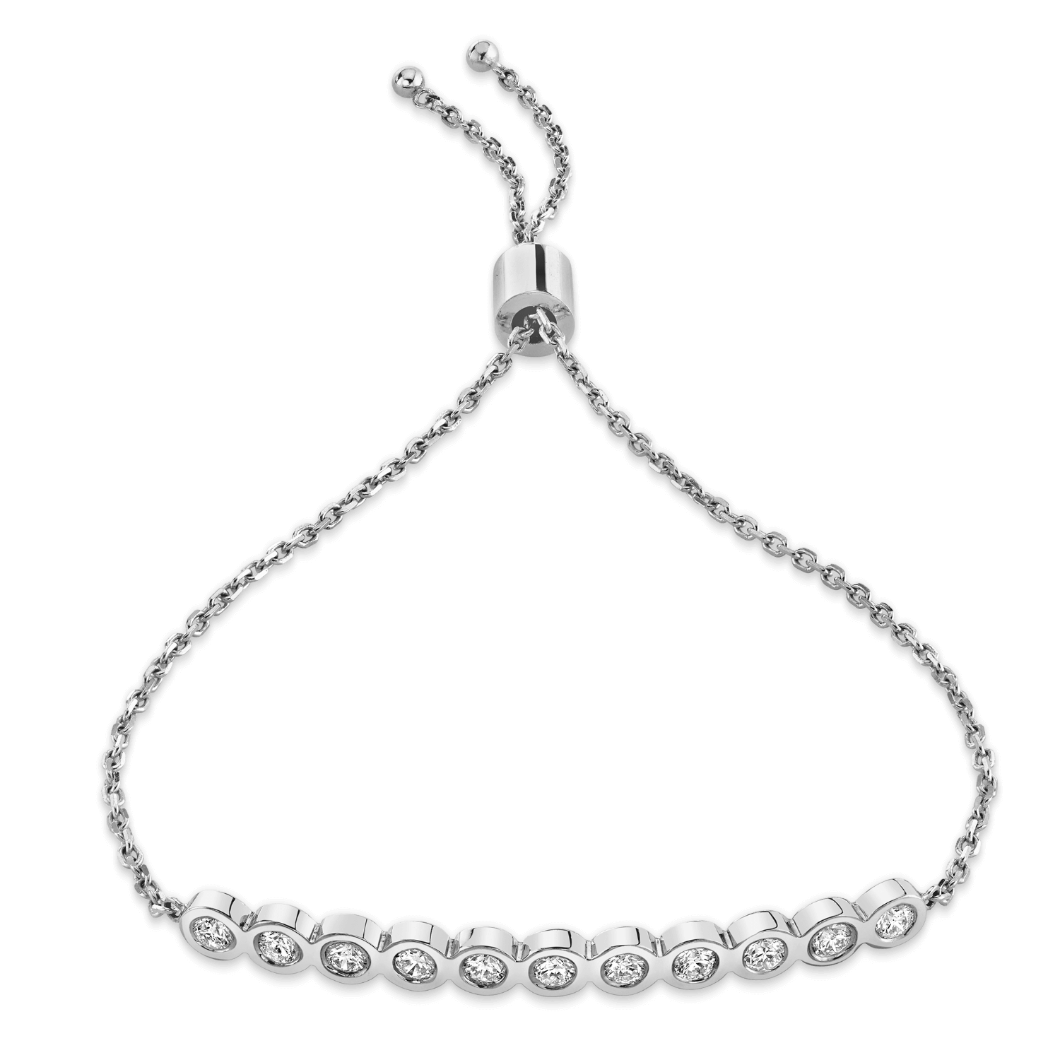 Bubble Diamond Bracelet
