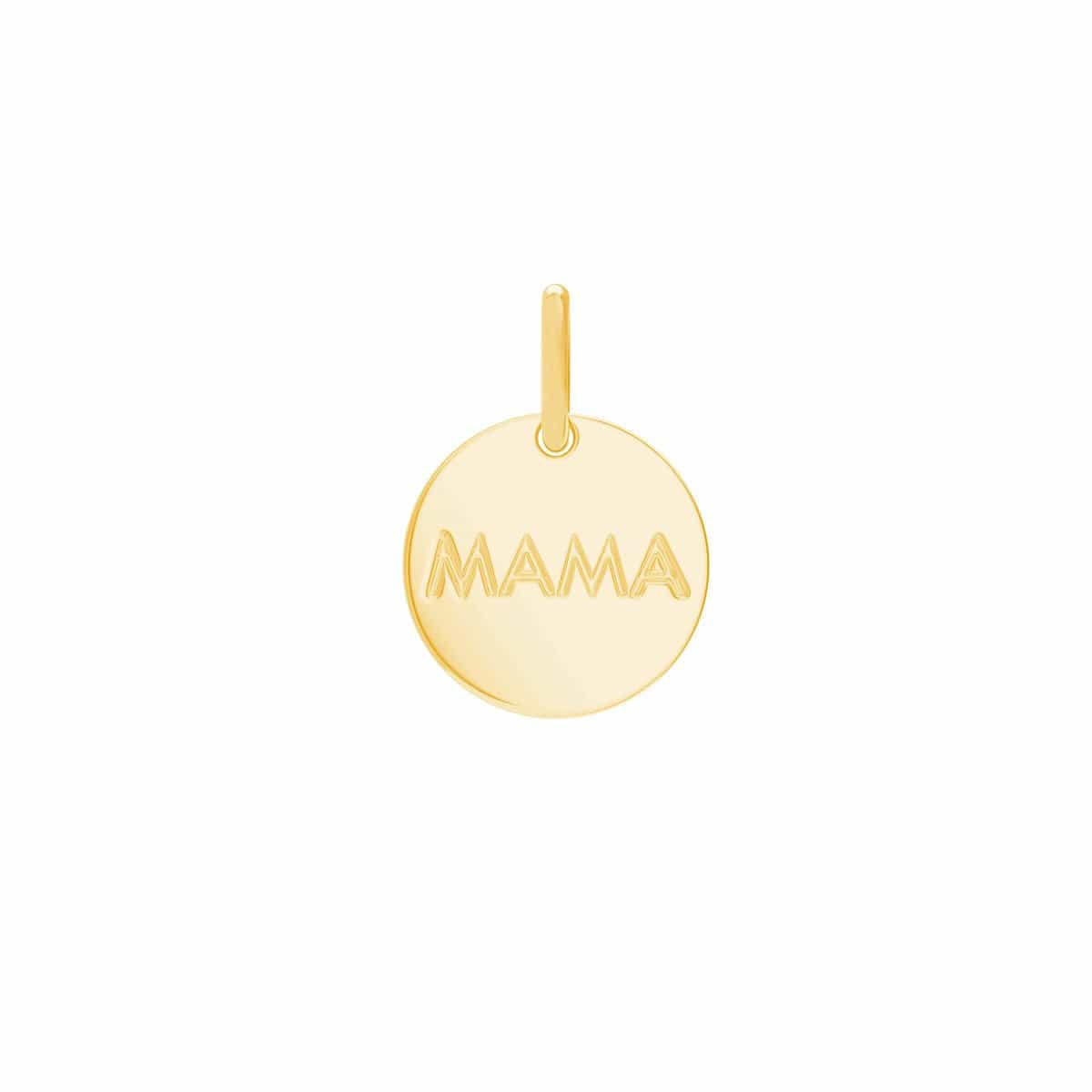 Engravable Round Coin Charm
