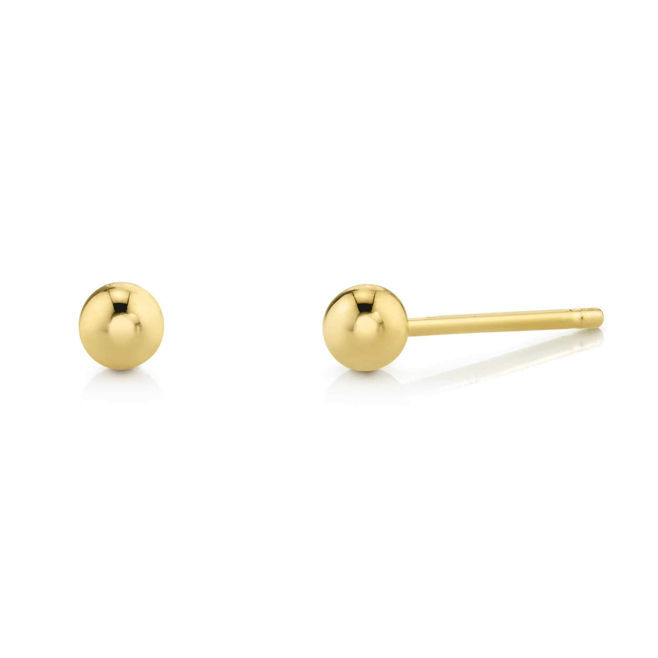 Kids Dainty Ball Studs