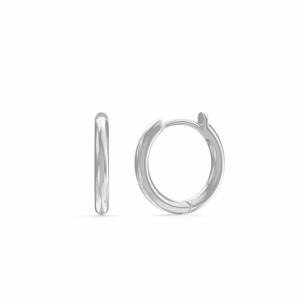 Moyen Solid Huggie Earrings