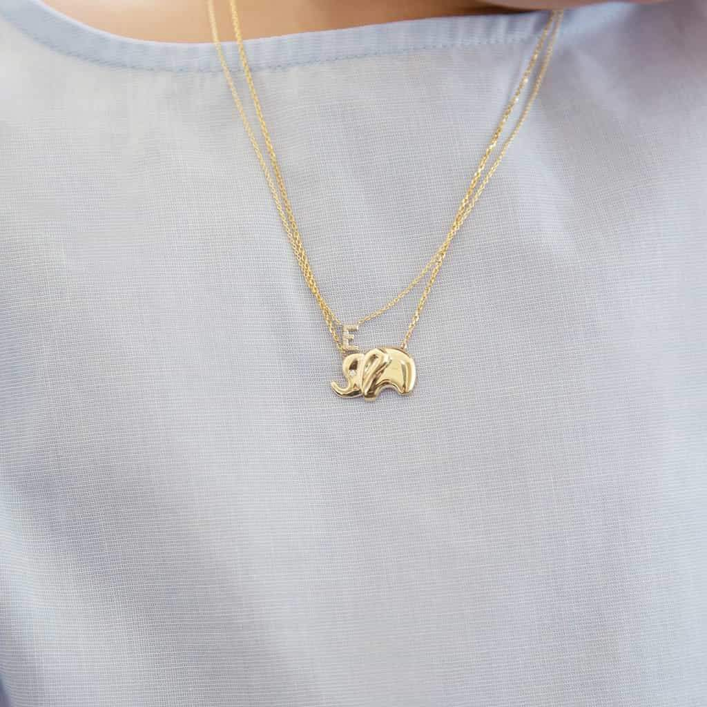 Kids Elephant Necklace