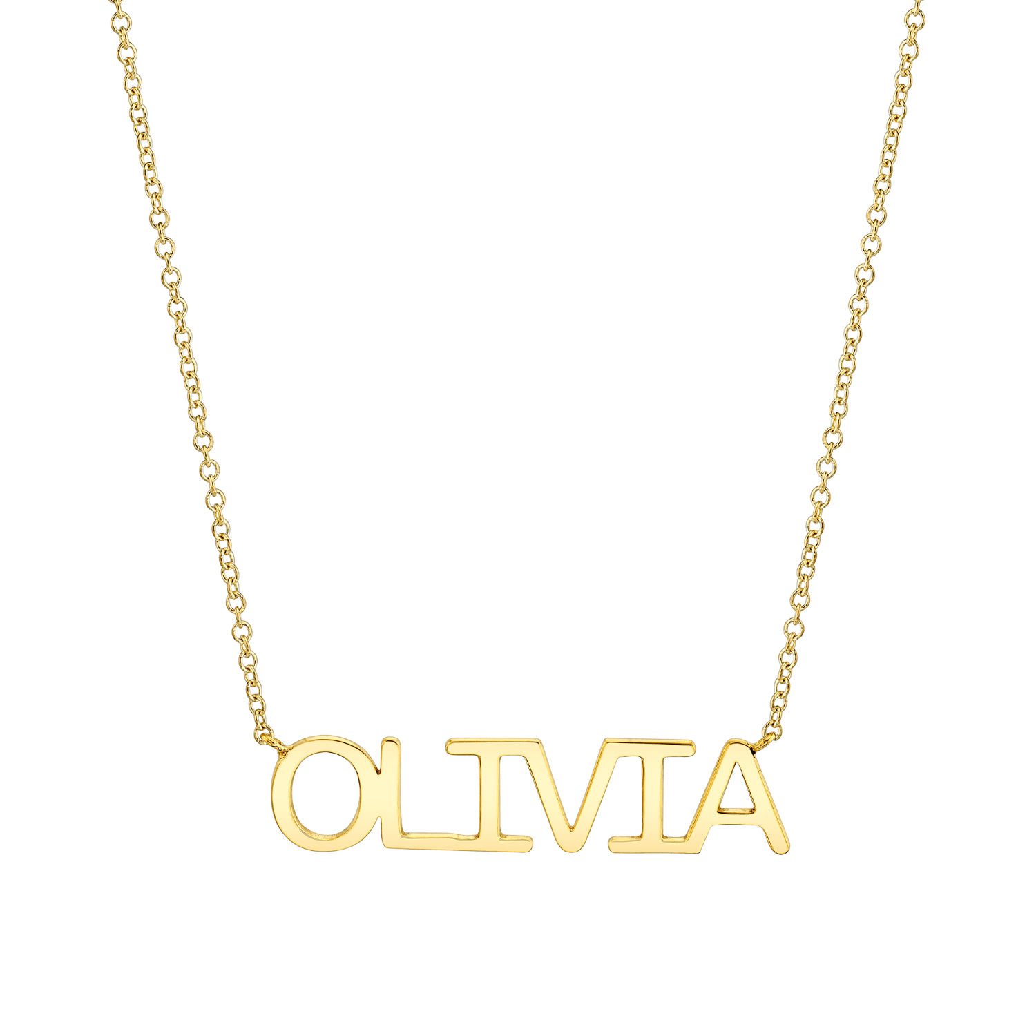 Kids Linear Name Necklace