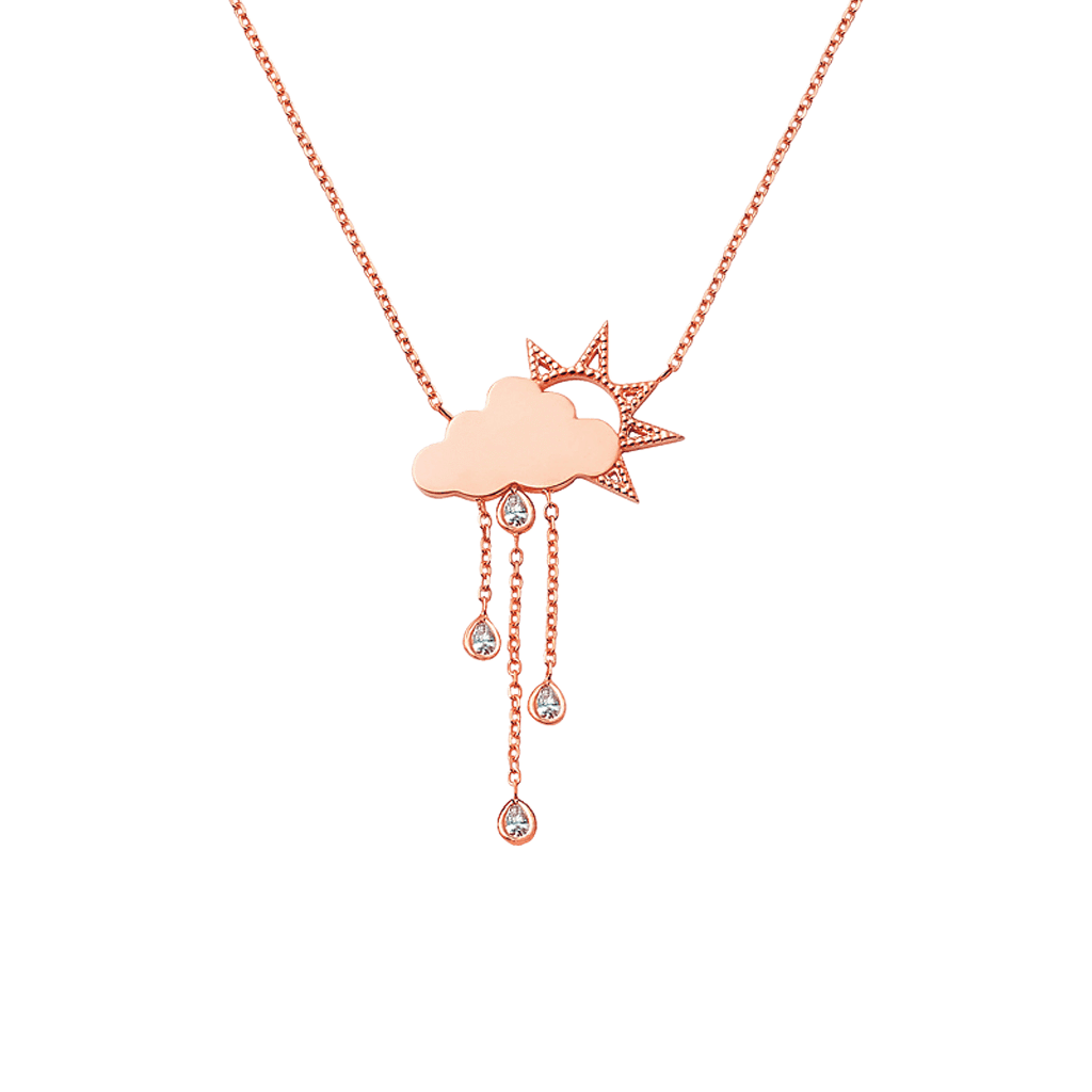 Kids Rainy Day Necklace