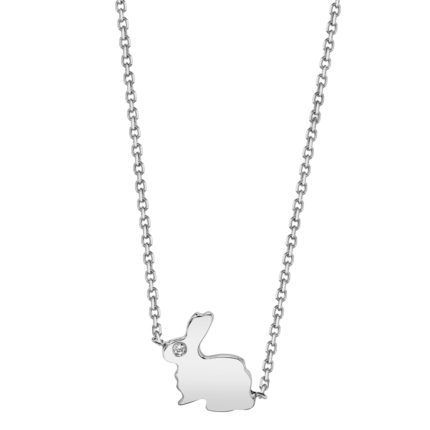 Dainty Bunny Rabbit Necklace