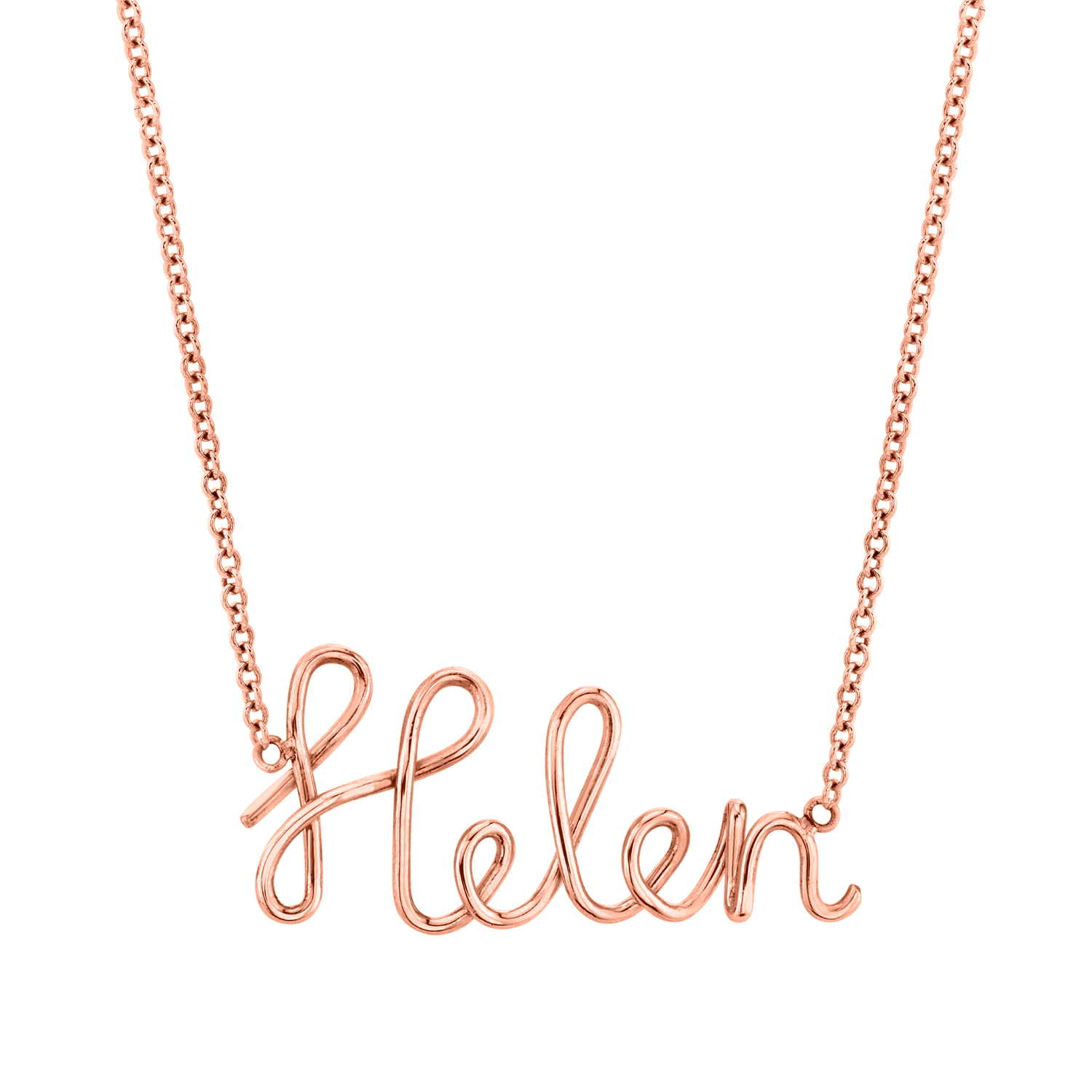 Kids Lulu Name Necklace