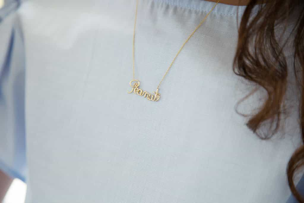 LULU Peanut Necklace