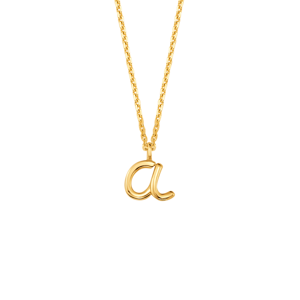 Mini Letter Necklace