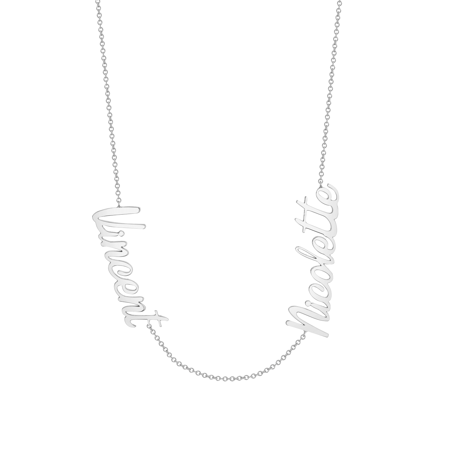 Deux Name Necklace