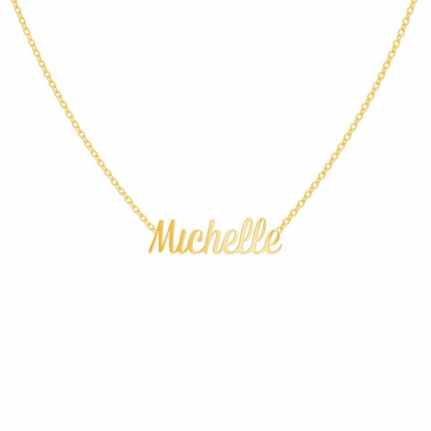 U Pave Petit Horizontal Short Necklace
