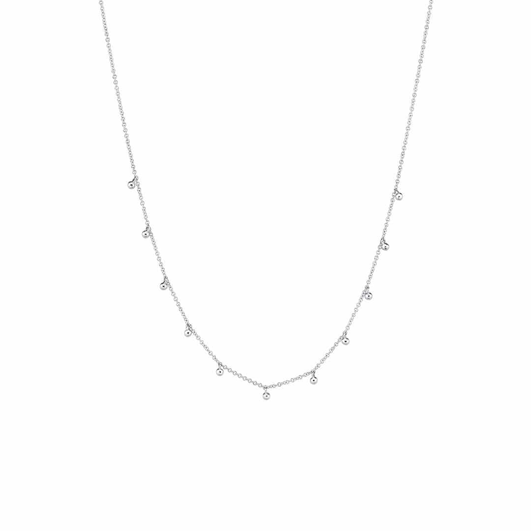 Mama Dainty Ball Chain Necklace