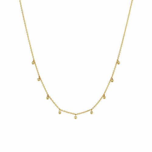 Mini Dainty Ball Chain Necklace
