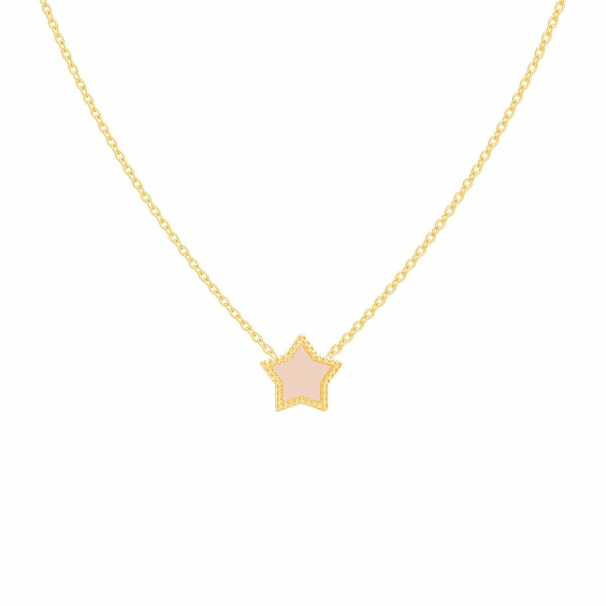 Petit Enamel Star Necklace