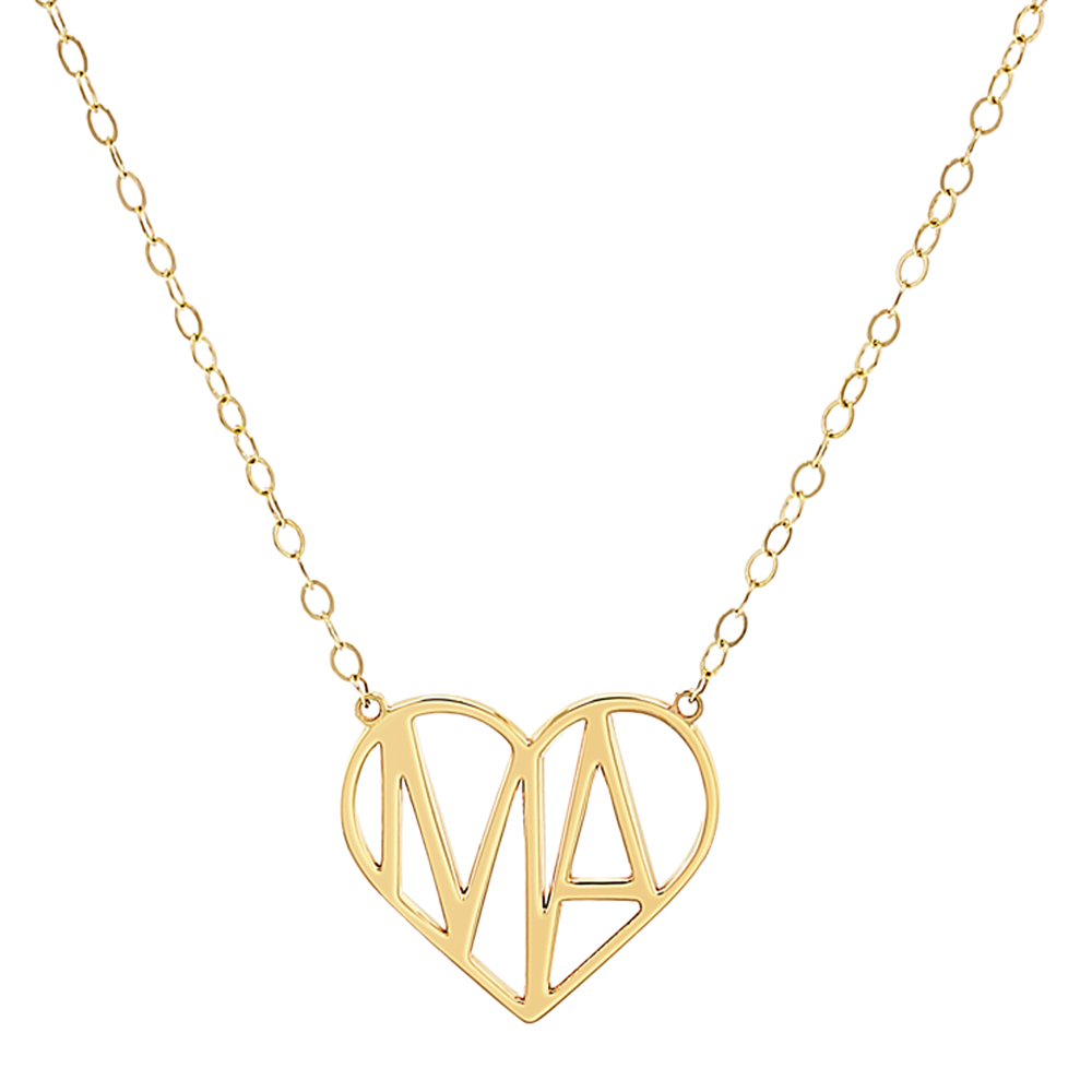 Liv Luv Heart Necklace