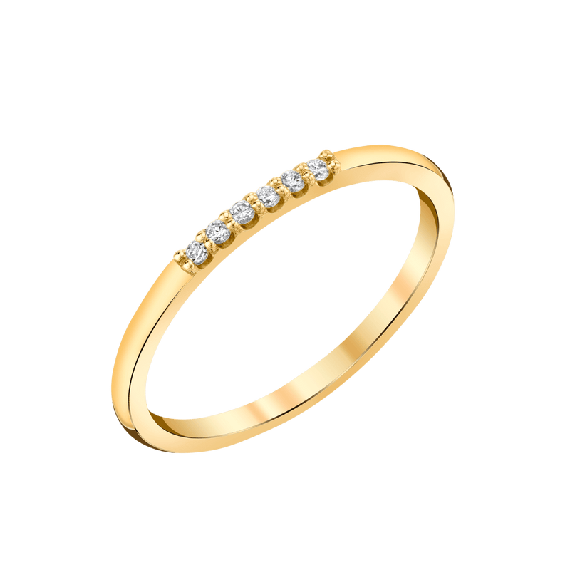 Dainty Diamond Band
