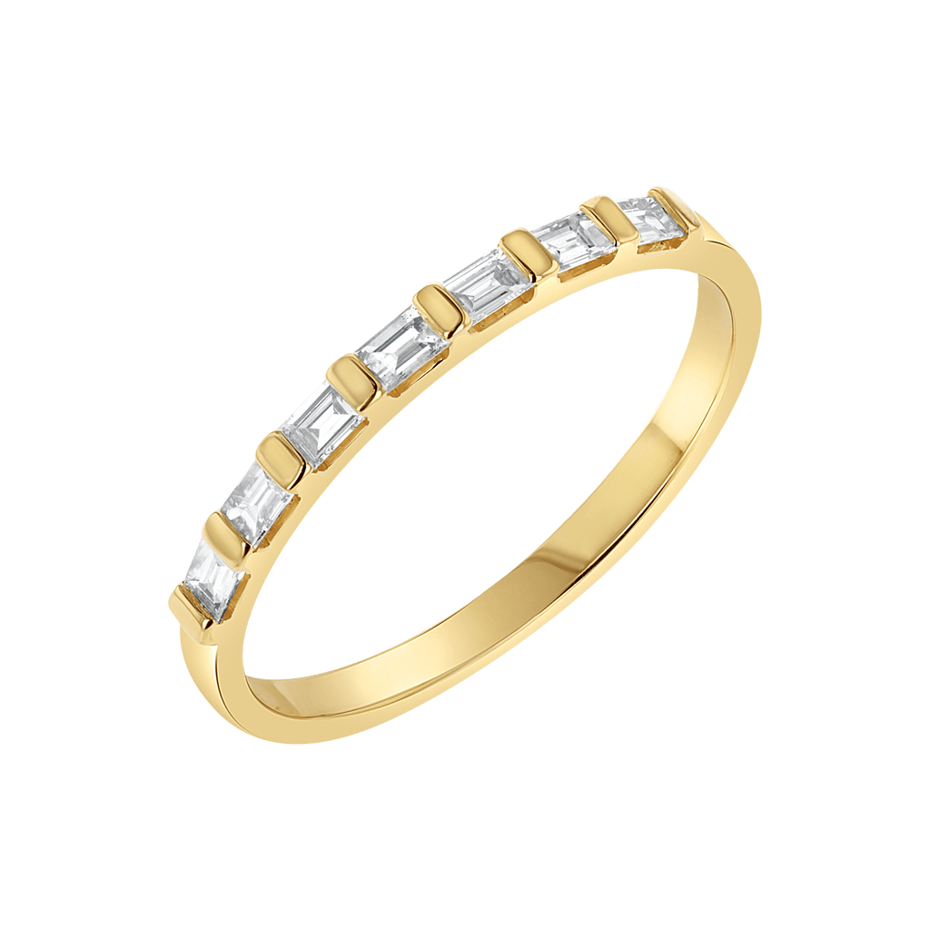 Baguette Row Ring