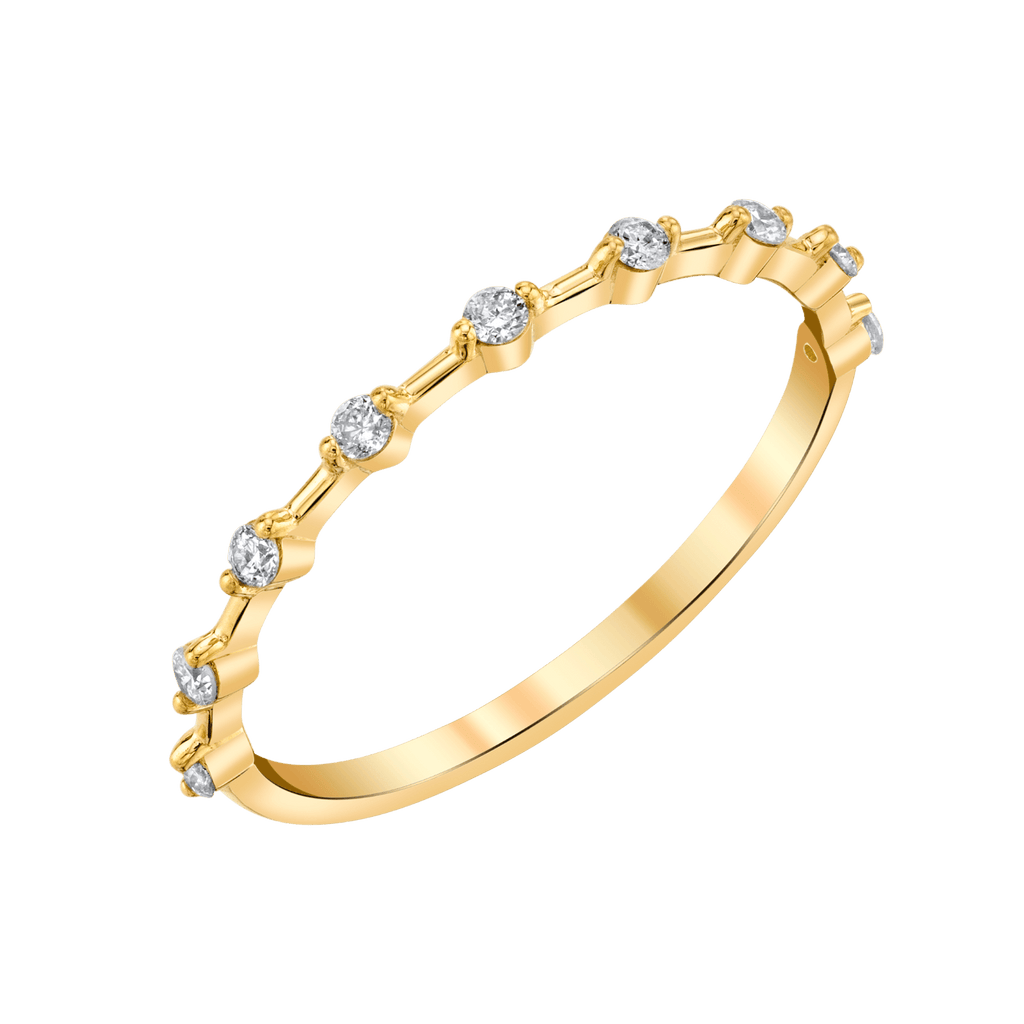 Floating Diamonds Ring