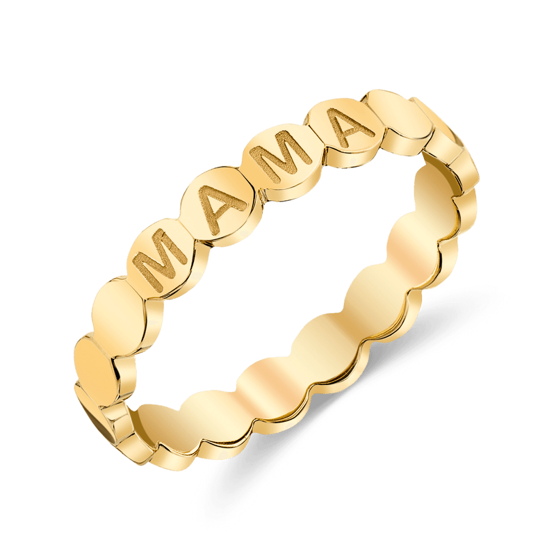 Bubble Engravable Eternity Band