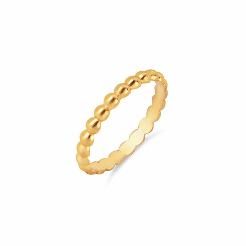 U Pave Petit Bar ID Ring