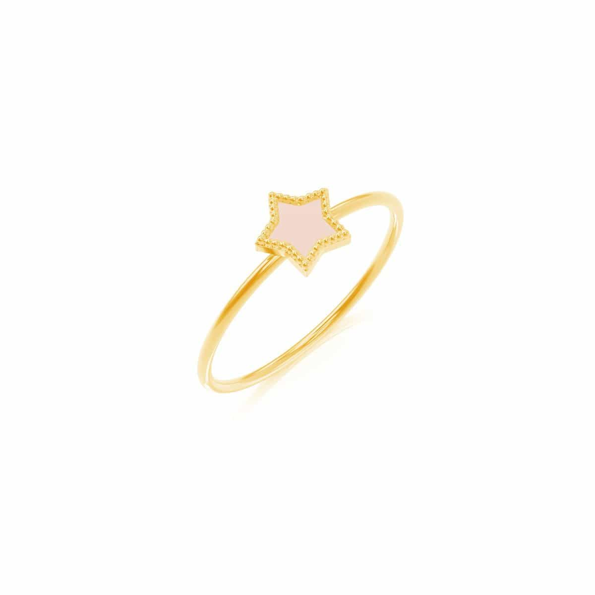 Petit Enamel Star Ring