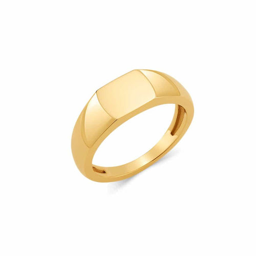 Shapes Rectangle Signet Ring