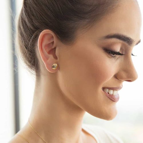 Cupola Moyen Dome Earrings