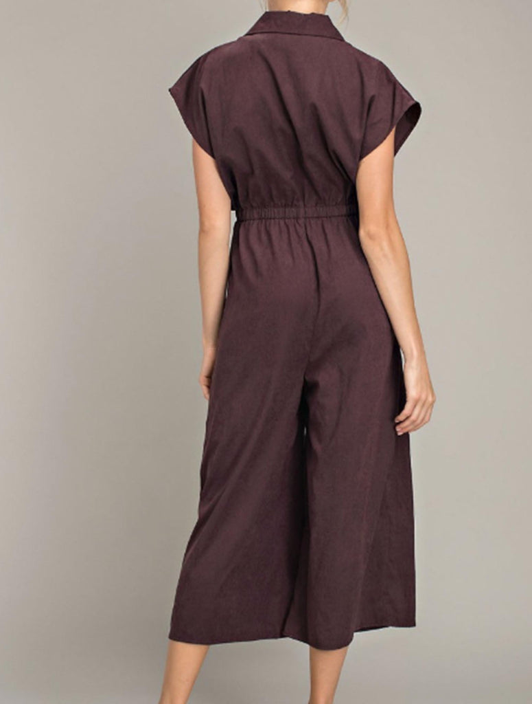 5090 Jumpsuit-Burgundy