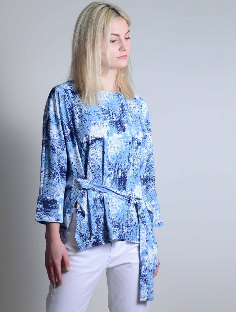 Top With Tie Front-6182