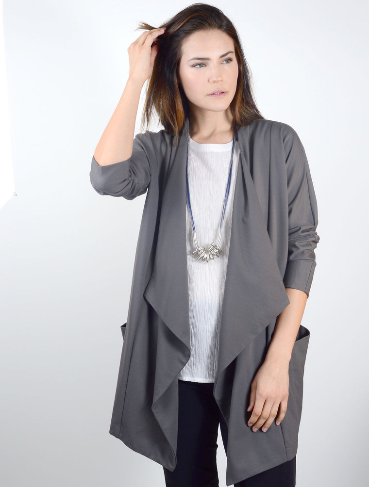 Cardigan 7114 in Grey