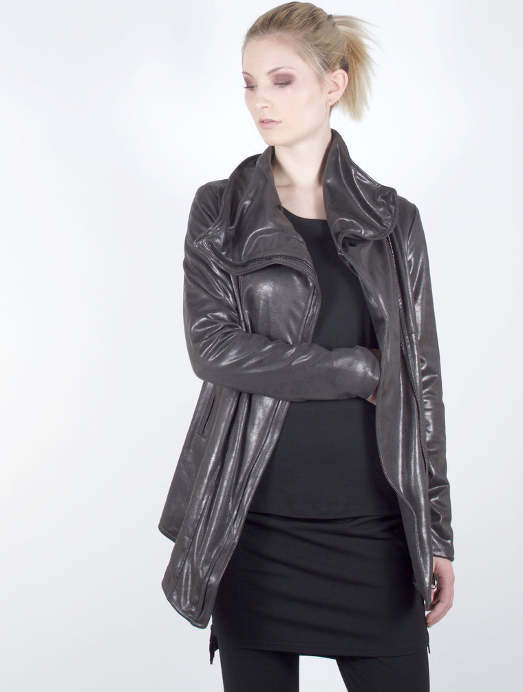 Jacket 7032 in Gunmetal Grey