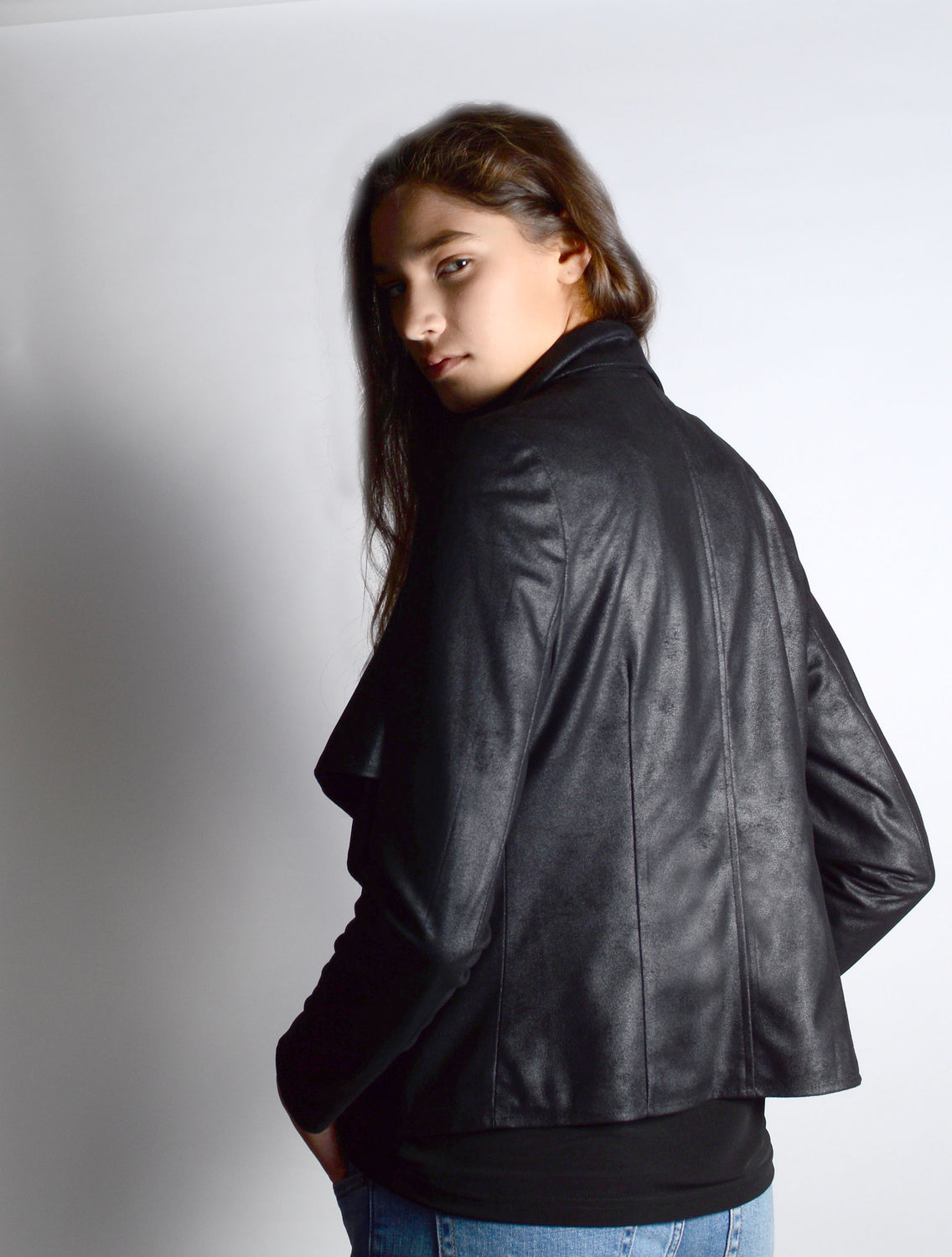 Jacket 7097 in Black