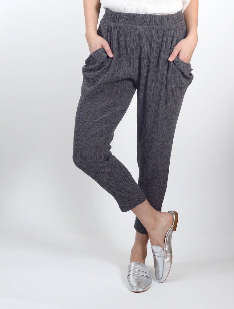 Pants 8049 in Grey and Black
