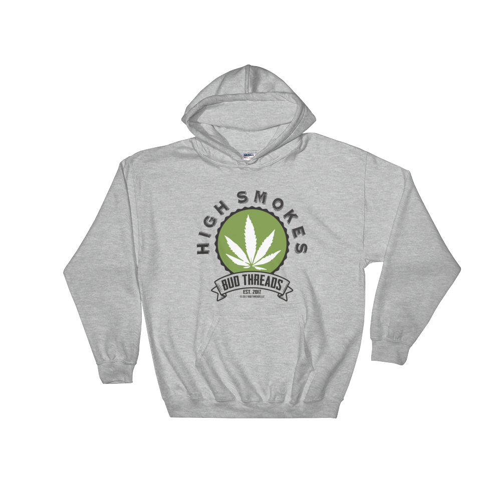 High Smokes-Hooded Sweatshirt