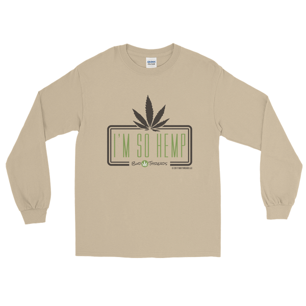 I'm So Hemp-Square Long Sleeve T-Shirt