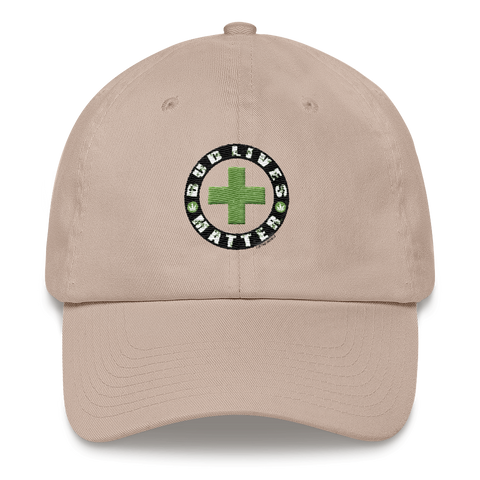 Bud Live's Matter-Circle Green Dat hat