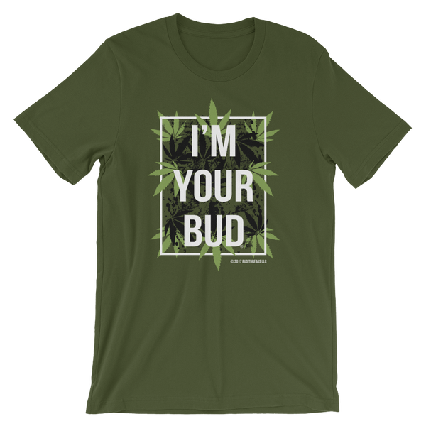 I'm Your Bud-Leaves Short-Sleeve Unisex T-Shirt