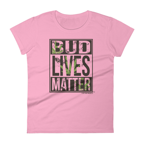 Bud Lives Matter-Women's short sleeve t-shirt