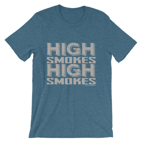 High Smokes-Short-Sleeve Unisex T-Shirt