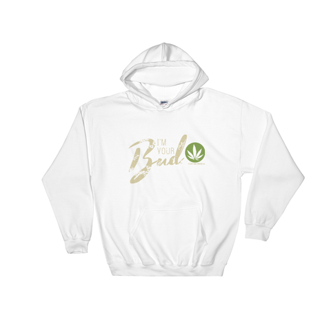 I'm Your Bud-Script Hooded Sweatshirt