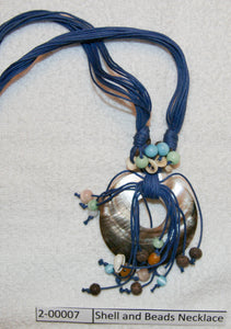 Shell and Beads Necklace