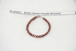 Saba Square Purple Bracelet
