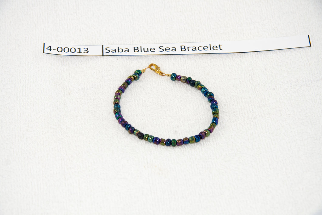Saba Blue Sea Bracelet