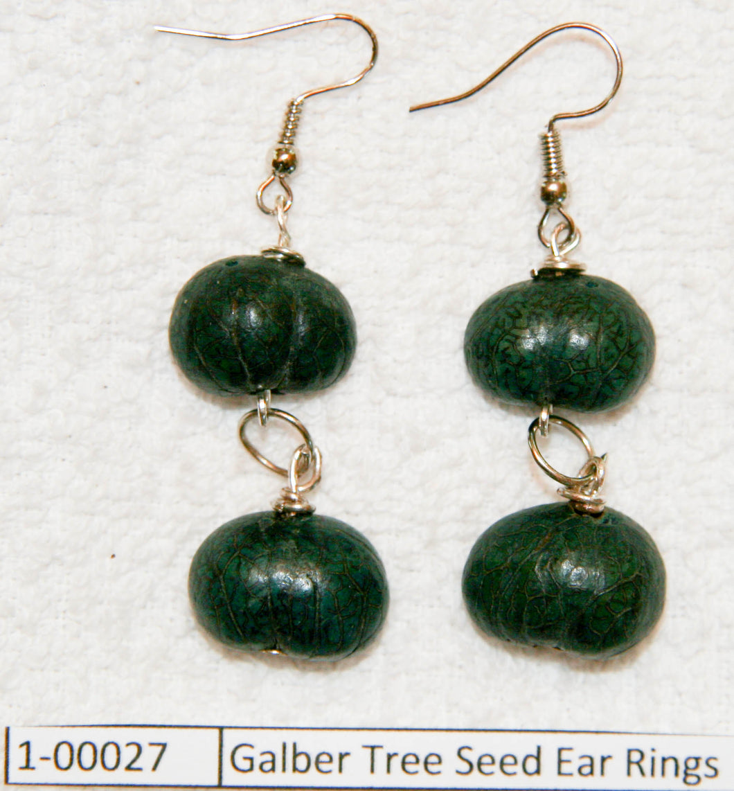 Galber Tree Seed Ear Rings