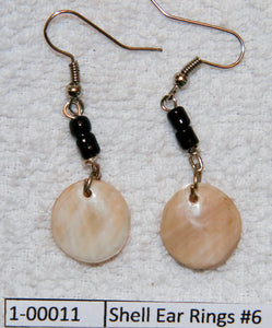 Shell Ear Rings #6