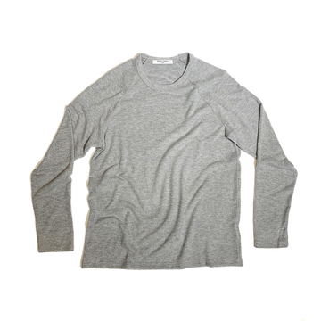 The Baker Raglan - Heather Grey